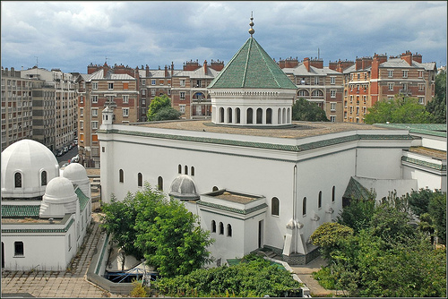 Большая мечеть Парижа, Достопримечательности Парижа