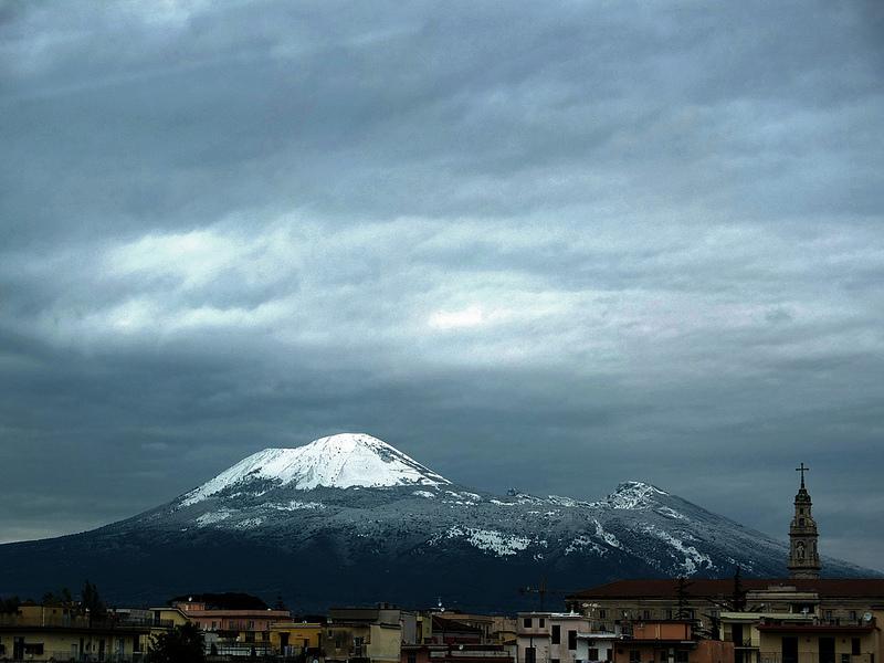 Помпеи, Везувий, вулкан