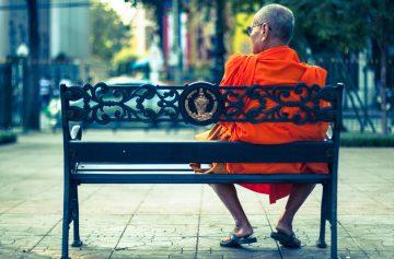 Таиланд Бангкок монах