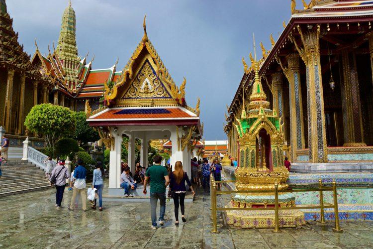 Большой дворец в Бангкоке Таиланд