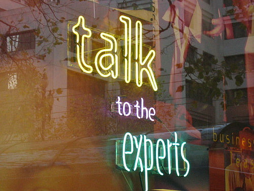 Говорите с экспертами, знания, успех