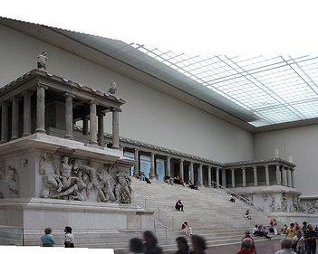 Пергамон, Берлин, музей Пергамон, Музейный остров