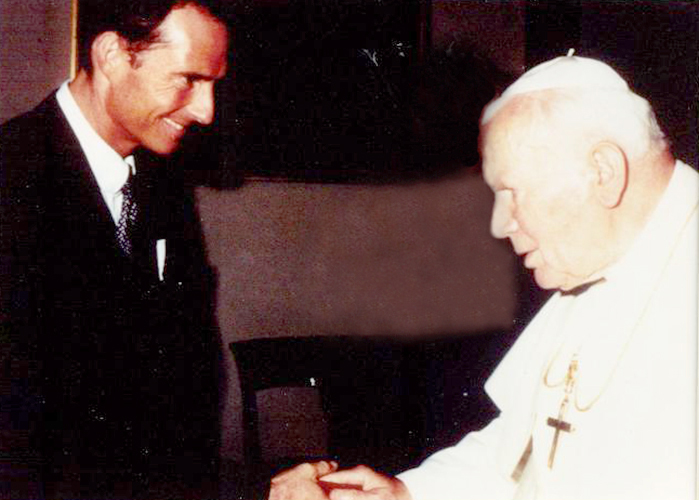 Bodo Schäfer, Бодо Шефер, Папа Римский Иоанн Павел II, бизнес-гуру
