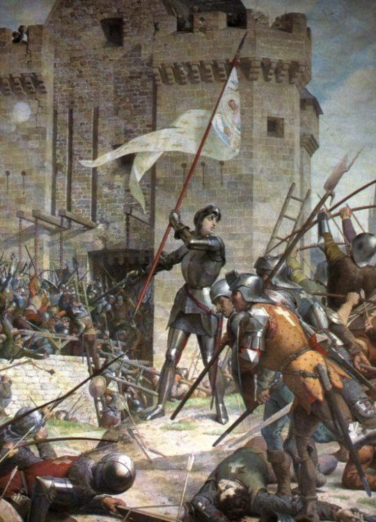 Ленепревю, Жанна д'Арк, осада Орлеана