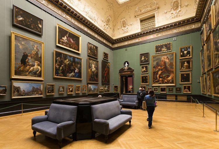 Вена Австрия Музей истории искусств