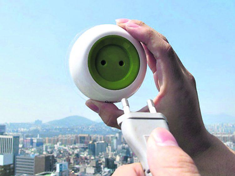Розетки на окнах, города будущего, розетки, энергия