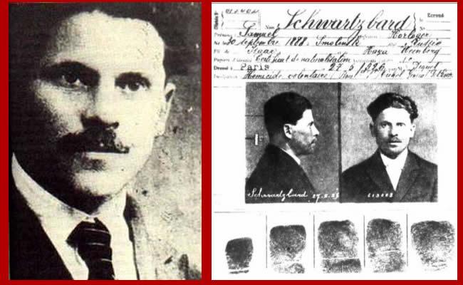 Убийца Петлюры, Шварцбард, досье, документы, архивы