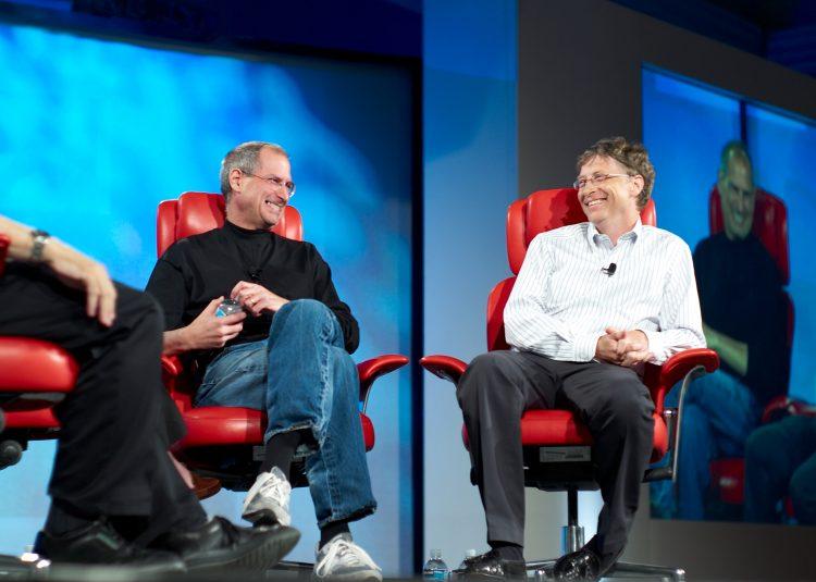 Джобс и Гейтс — законодатели IT-моды