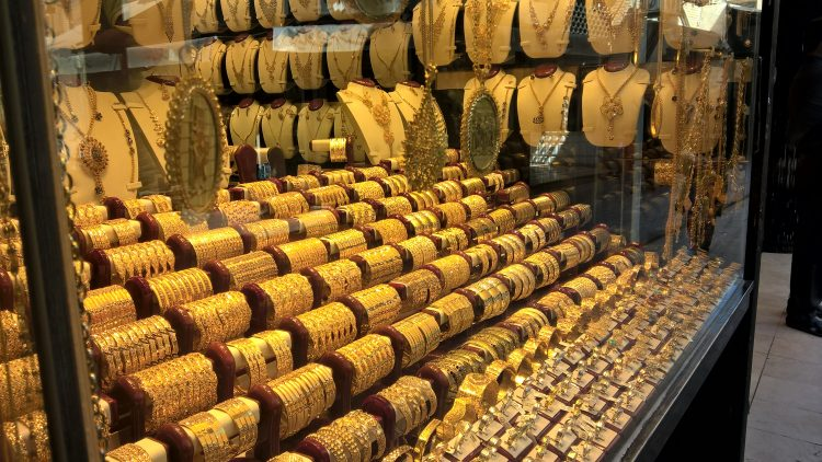 Иран, золото, базар