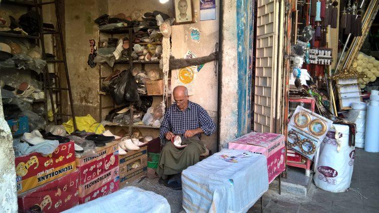 Иран, обувь, работа