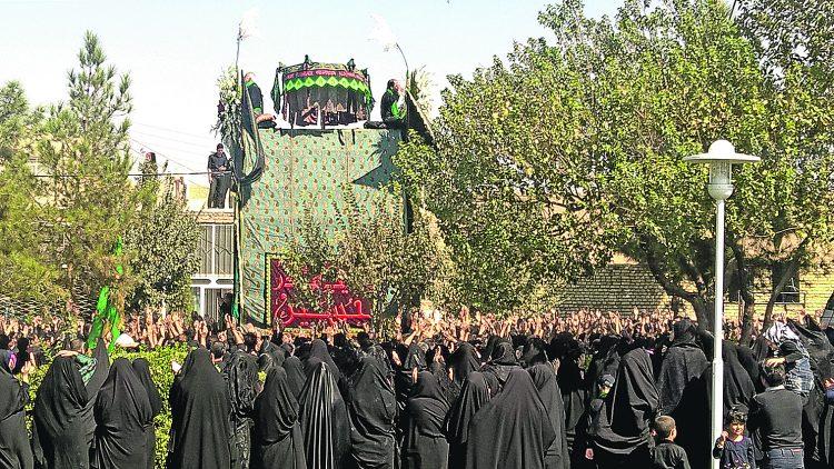 Иран, Ашура, день траура