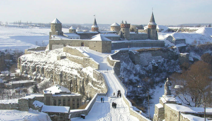 Каменец-Подольская крепость - отличное место для праздника