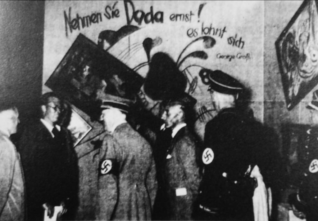Кандинский, Гитлер, дегенеративное искусство, хроника, старые фотографии