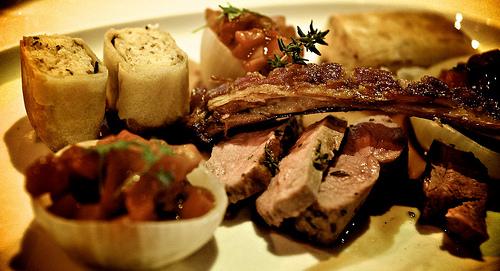 Steirereck, Вена, блюдо в ресторане