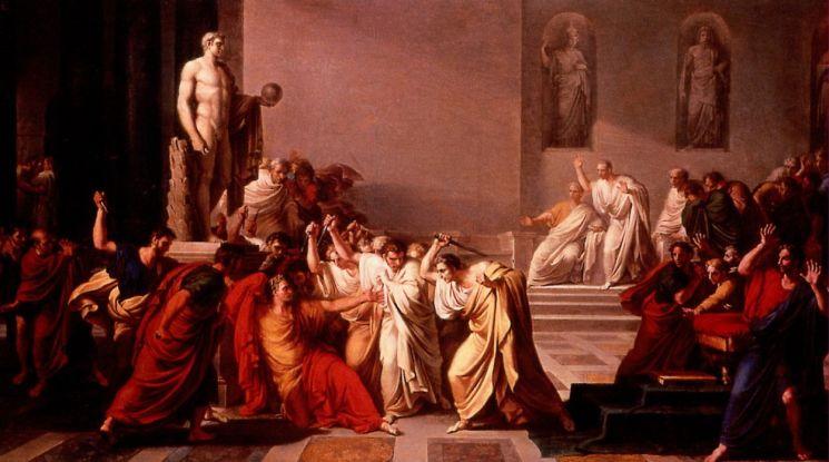 Брут предал Цезаря, который в него верил