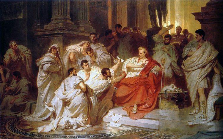 Брут и Цезарь: история предательства