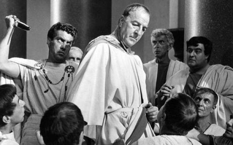 Цезарь простил и принял Брута