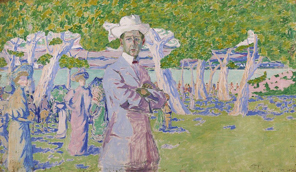 Лентулов, Портрет Н.А.Соловьева. 1907