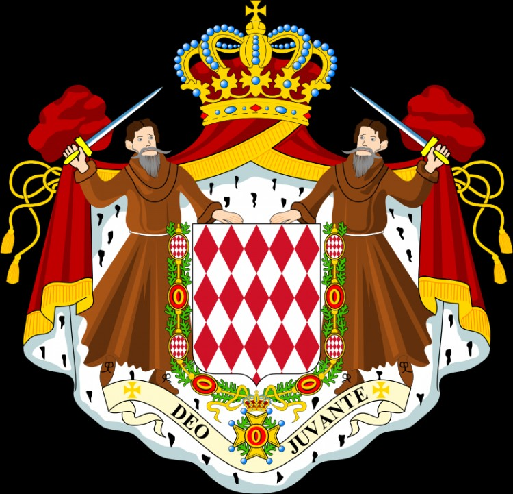 Герб Монако, Гримальди
