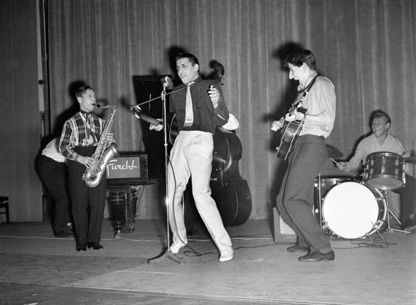 Группа Адриано Челентано Rock Boys