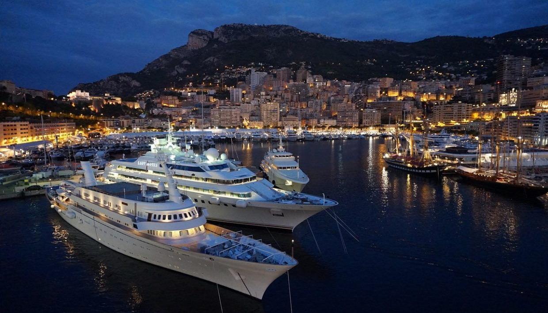 Монако, Гримальди, бухта Эркюль