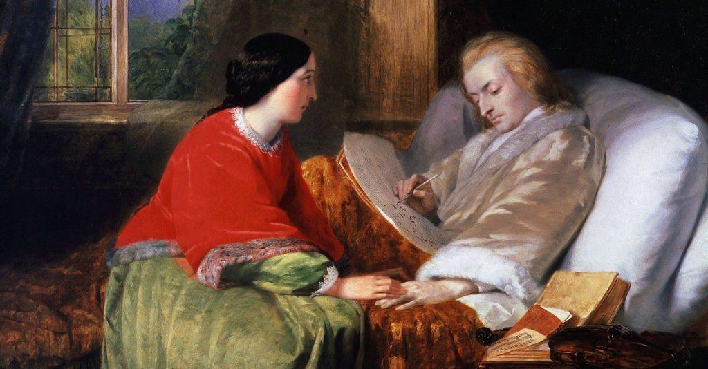 Последние дни Моцарта