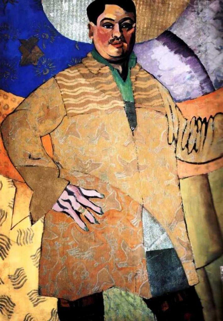 портрет Лентулова, Лентулов, картины Лентулова, бубновый валет, искусство, живопись Лентулова