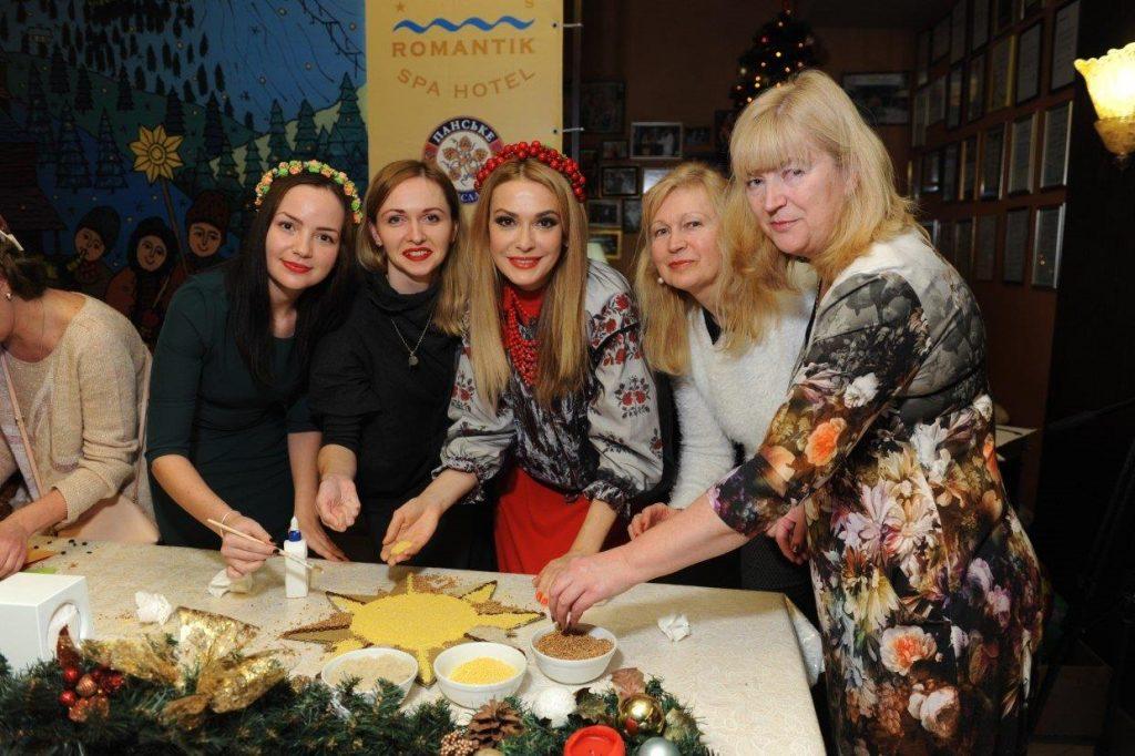 Ольга Сумская, актриса Сумская, Рождество