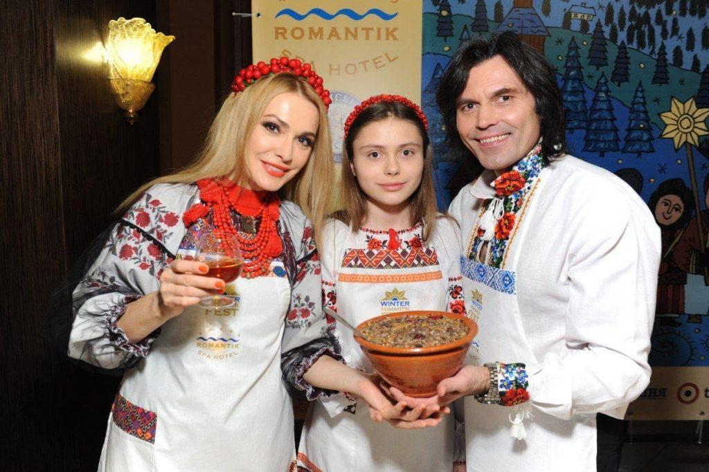 Ольга Сумская, Анатолий Борсюк, Рождество, кутья, кутя, взвар, узвар