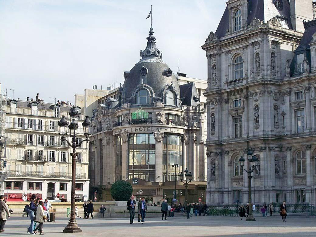 Le BHV Marais, универмаг, Париж