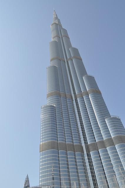 Burj Khalifa, ОАЭ, Дубаи, Бурдж Калифа