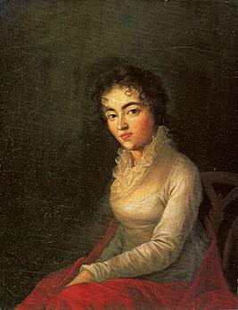 Жена Моцарта Констанция Вебер