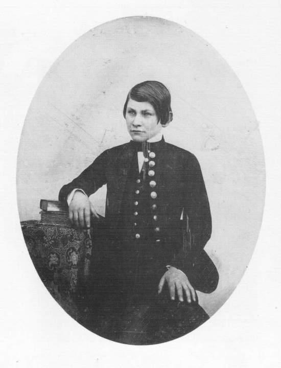 Юный Эдуард Мане