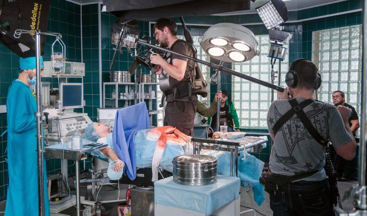 съемки сериала Дежурный врач, как снимают кино