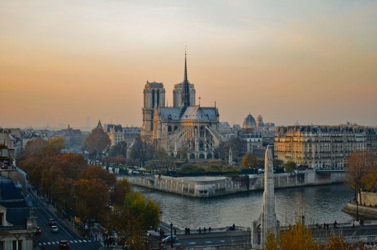 Достопримечательности Парижа: Нотр-Дам