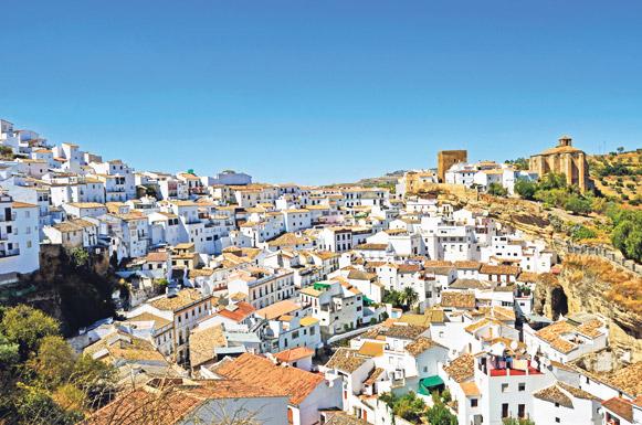 автопутешествия, Андалусия, белая деревня