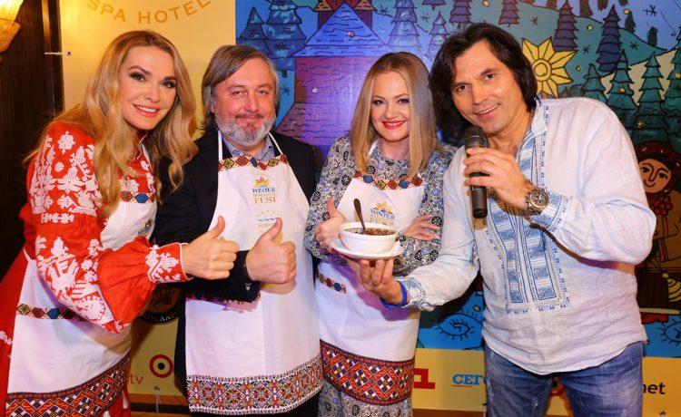 Сумская, Борисюк, Ольга Сумская, Рождество, украинские звезды, украинские артисты, 12 постных блюд