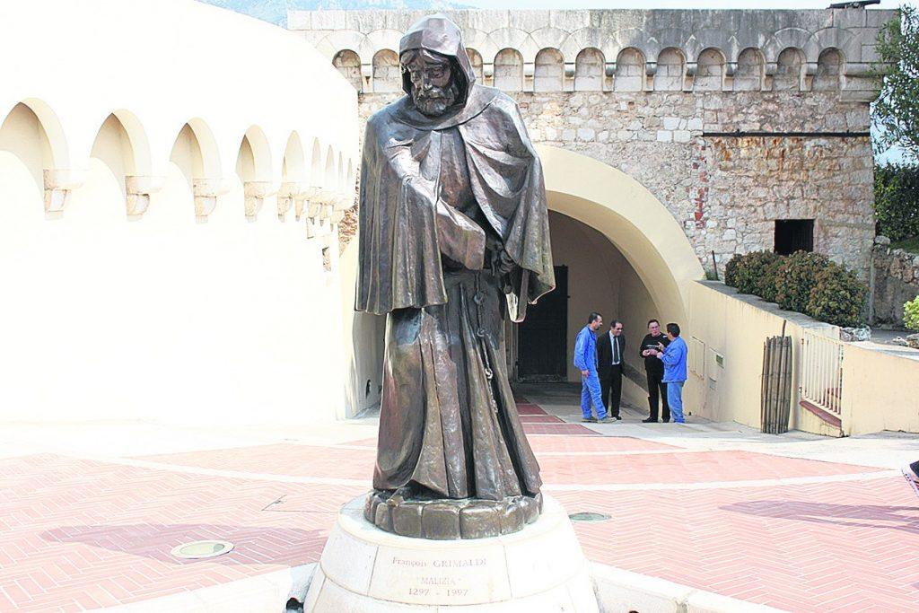 Гримальди, Монако, монах