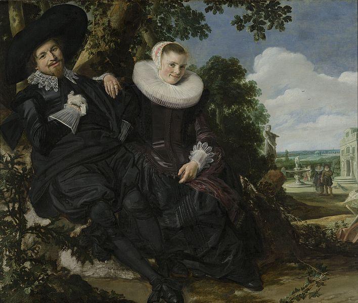 Франс Халс. Портрет супружеской пары или Семейный портрет Исаака Массы и его жены