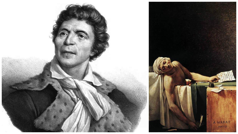 марат, смерть марата, великая французская революция