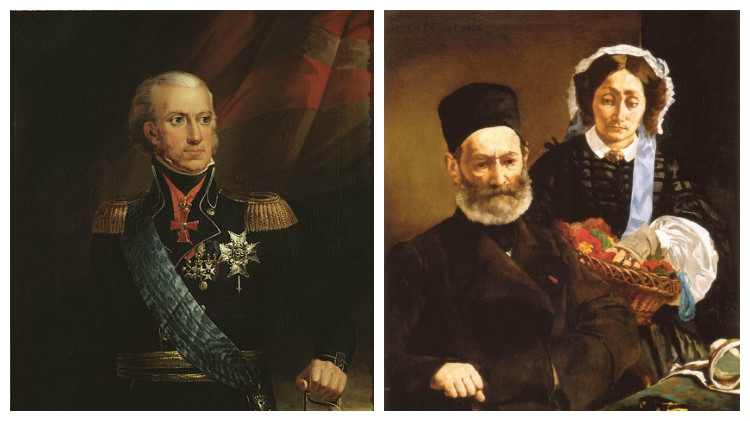 король Швеции Карл 13, родители Эдуарда Мане
