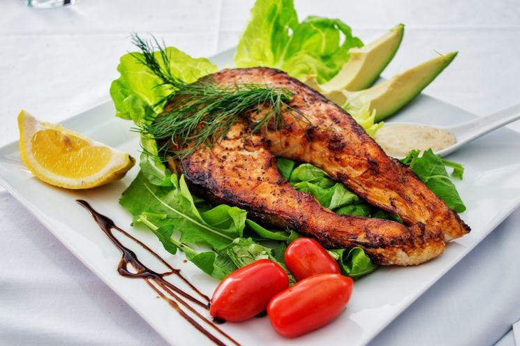 похудела на белках и овощах