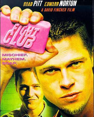 Постер фильма Бойцовский клуб, Бред Питт