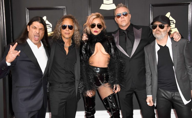 LadyGaga Metallica the 59th Annual Grammy music Awards