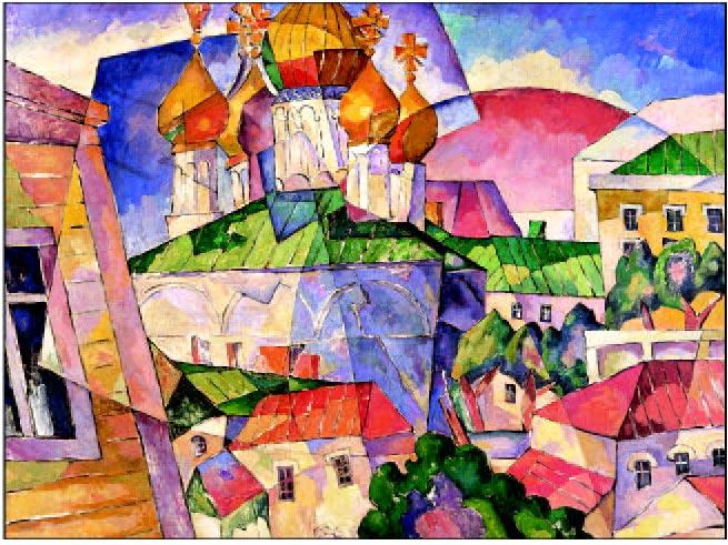 Lentulov_Church_Redroofs