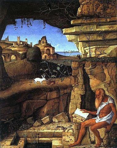 святой Иероним, пустыня
