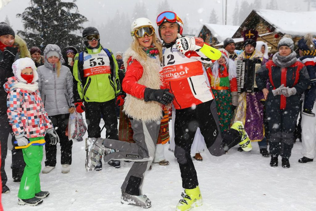 Виталий Борисюк лыжи карпаты Буковель горы спорт
