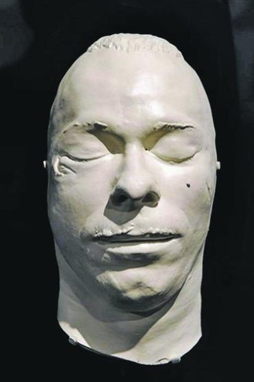 Посмертная маска Джона Диллинджера