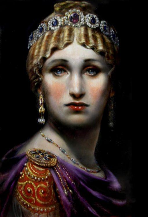 Antoine Helbert, императрица Евдоксия