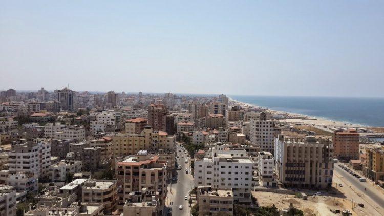 город Газа в Палестине